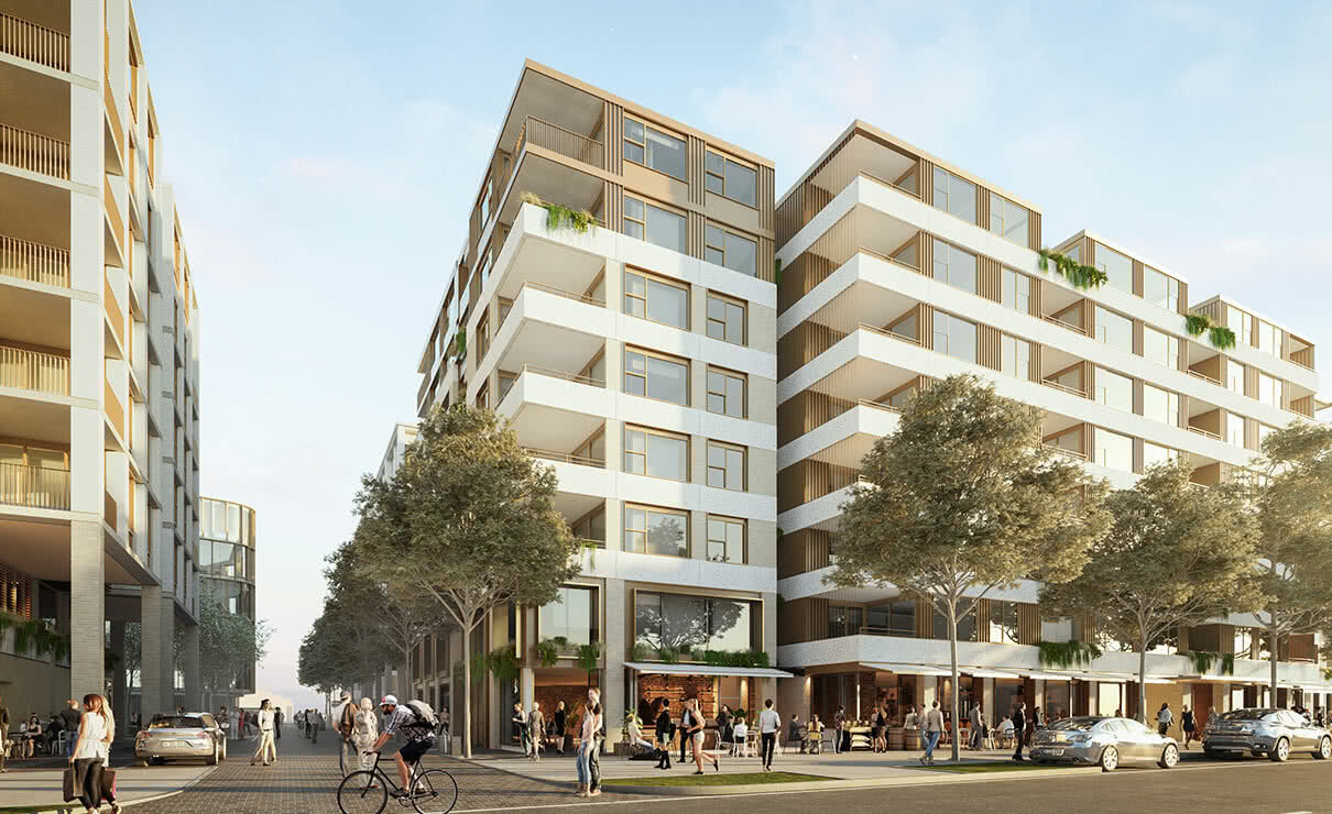 450 residential apartments